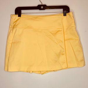 ⭐️3/$25⭐️ Cache Yellow Skort skirt shorts